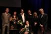 Per Erik Andersen (fv.), Astrid Borchgrevink Lund, Tor Arne Ursin, Gina Winje, Tove Nilsen, Anders Heger, Bjørg Vik (foran).  Foto Marie Borchgrevink Lund