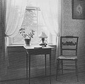 Fra Emily Dickinsons værelse