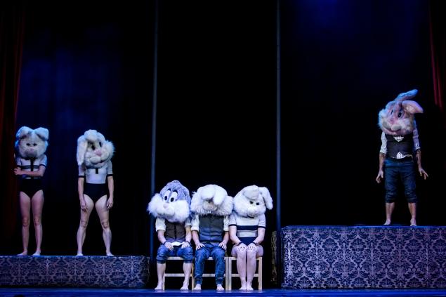 1st August 2014. CIRCA Beyond at McEwan Hall as part of Edinburgh Festival Fringe 2014