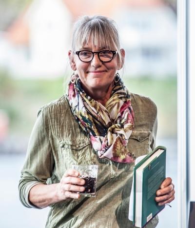 PERLE: Merete Junker. Foto Kai Hansen.