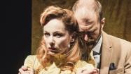 """INFAM: Veslemøy Mørkrid som Alice og Jo Adrian Haavind som Kurt i Strindbergs """"Dødsdansen"""". Foto: Dag Jenssen."""
