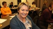 DIGGBART: Dette digger jeg. Så bra og direkte overførbart for veldig mye av det jeg gjør i min hverdag, sier Ann Iren Haugen.